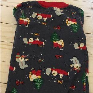 Hanna Andersson Pajamas - Hanna Andersson size 70 Christmas Santa pajamas